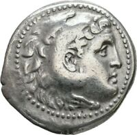 LANZ PAMPHYLIA ASPENDOS TETRADRACHM ALEXANDER DATED YEAR 27
