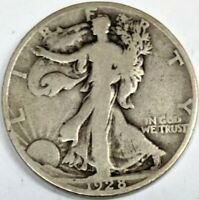 1928-S WALKING LIBERTY HALF DOLLAR GOOD
