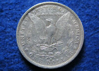 1882 O MORGAN SILVER DOLLAR - LUSTROUS EXTRA FINE DETAIL - FREE U S SHIPPING