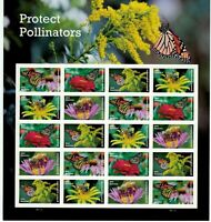 2017 PROTECT POLLINATORS PANE OF 20 FOREVER POSTAGE STAMPS SCOTT 5228 32