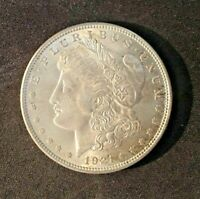 1921 MORGAN DOLLAR MINT STATE UNCLEANED