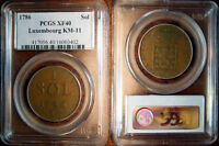 1786 LUXEMBOURG SOL PCGS XF40
