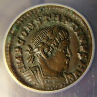 307 337 AD CONSTANTINE THE GREAT LONDON MINT ANACS EF 40