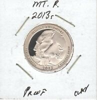 2013S MOUNT RUSHMORE CLAD PROOF WASHINGTON QUARTER  SEE DESC