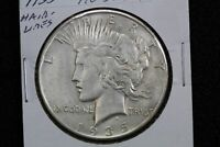 1935 PEACE DOLLAR HAIRLINES 0FQ5