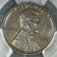 1909 S VDB PCGS AU55 LINCOLN WHEAT CENT  KEY DATE
