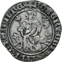 LANZ MEDIEVAL ITALY NAPOLI ROBERT THE WISE GIGLIATO SILVER