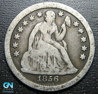 1856 P SEATED DIME  --  MAKE US AN OFFER  P5586