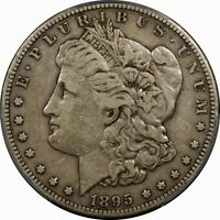 1895-S $1 MORGAN SILVER DOLLAR PCGS VF30  OLD TYPE COIN