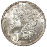 1888-O $1 PCGS MINT STATE 64 VAM-1A E REVERSE  NEAR GEM TOP-100 MORGAN DOLLAR VARIETY