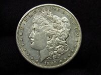 1889-S MORGAN SILVER DOLLAR  AU COIN