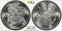 1890-S $1 PCGS MINT STATE 63 REDFIELD COLLECTION