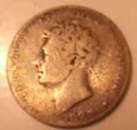 GREAT BRITAIN 1827 6 PENCE SIXPENCE