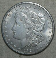 1921-S 90 SILVER MORGAN DOLLAR