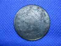 1808 CLASSIC HEAD LARGE CENT ONE CENT COIN