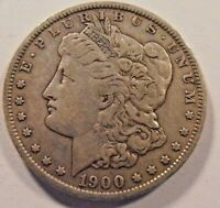 1900 O  MORGAN SILVER DOLLAR, 00OPKE