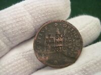 1837 HARD TIMES TOKEN COUNTER STAMPED J. E. SKALBE NUMISMATIST BOSTON
