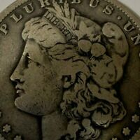 1895-S MORGAN SILVER DOLLAR - VF ONLY 400,000 MINTED