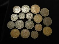 JERSEY COLLECTION OF 28X COINS 19TH 20THC