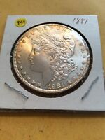 MORGAN SILVER DOLLAR: 1881               C580-859