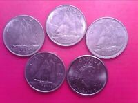 CANADA   10    CENTS  1975  1977  1978 1979 2001     APR03