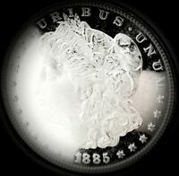 1885 P MORGAN DOLLAR HIGH GRADE GEM  MONSTER 30