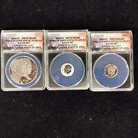 2015-W P MARCH OF DIMES SPECIAL 3 COIN SILVER SET ANACS PR 70 DCAM 0609/1863