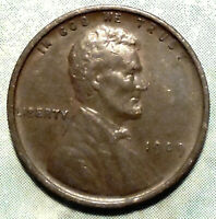 1909 WHEAT CENT AU CHOICE ABOUT UNCIRCULATED BRWN 1ST YEAR LINCOLN MORE >STORE