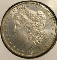 1881 MORGAN DOLLAR B80508BT