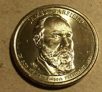 2011D GARFIELD PRESIDENTIAL DOLLAR 00411