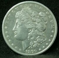 1879-CC MORGAN SILVER DOLLAR UNCERTIFIED VAM 3 TOP 100