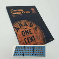 1920 1988 CANADA SMALL CENTS 71 COIN WHITMAN FOLDER INCOMPLE