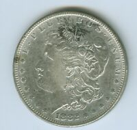 1882-S MORGAN SILVER DOLLAR--CIRCULATED--EXTRA FINE /AU