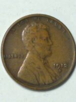 1912-S. LINCOLN WHEAT CENT SHIPS FREE TO AN ADDRESS IN CONTINENTAL U.S.