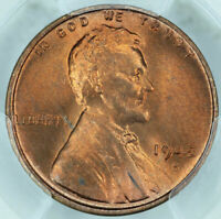 1945-S PCGS MINT STATE 66RD LINCOLN CENT