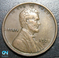 1921 S LINCOLN CENT WHEAT CENT  --  MAKE US AN OFFER  B1659