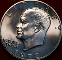UNCIRCULATED 1972 S SAN FRANCISCO MINT SILVER EISENHOWER DOL