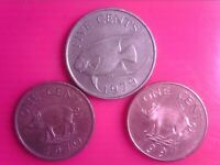 BERMUDA 1  CENT    1970   1997    5    CENTS    1979   MAY31