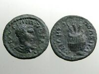 UNIDENTIFIED BRONZE AE18_______ROMAN PROVINCIAL_______INTERESTING ANCIENT COIN