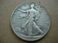 1934-D VF CLEANED BETTER DATE WALKING LIBERTY SILVER HALF DOLLAR-L29