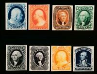UNITED STATES  US  40P4   47P4 CARD PROOFS COMPLETE SET