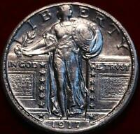 UNCIRCULATED 1917 S TYPE IL SAN FRANCISCO MINT SILVER STANDI