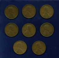 LINCOLN SMALL CENTS: 1919, 1919-D, 1919-S, 1920, 1920-D, 1920-S, 1921, & 1921-S
