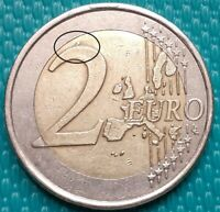 VARIETY  FAMOUS 2 EURO 2002 WITH  S GREECE  DIE CRACK ON