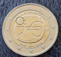 VARIETY  COMMON 2 EURO 2009 ''TEN YEARS EURO'' GREECE  XF  V