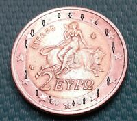 VARIETY  FAMOUS 2 EURO 2002 WITH  S GREECE  WRONG INNER CUTT