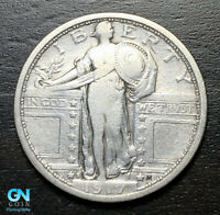 1917 S TYPE 1 STANDING LIBERTY QUARTER  --  MAKE US AN OFFER  B3192