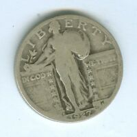 1927-D STANDING LIBERTY QUARTER--CIRCULATED