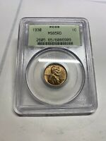 1930-S PCGS MINT STATE 65RD OGH LINCOLN WHEAT CENT OLD GREEN LABEL 6909