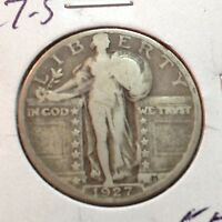 1927-S   STANDING LIBERTY QUARTER  KEY DATE